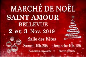 Marché de Noël @ Salle des Fêtes   Saint-Amour-Bellevue   Bourgogne-Franche-Comté   France